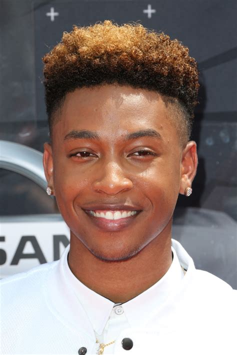 diggy simmons haircut jacob latimore pictures celebs arrive at the 2015 bet