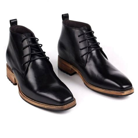 What Is Your Favorite Boot Height by Elevator Boots Add Your Height 7cm 2 8inch Black