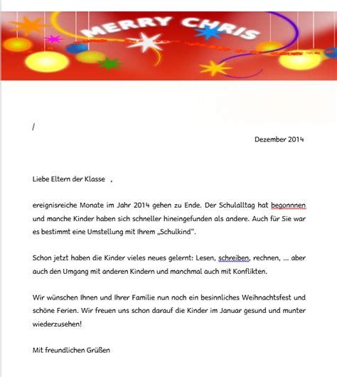 Word Vorlage Weihnachtsbrief Sonnenklasse Wieder Da Vorlage F 252 R Einen Weihnachtsbrief An Die Eltern