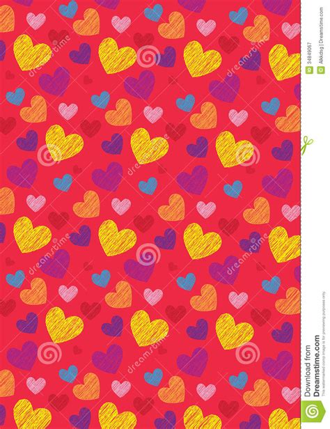 love shape pattern vector love shape pattern stock vector image of outdoor card