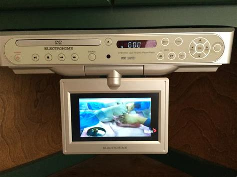 Cabinet Tv Radio Under Counter Tv Dvd Radio Player Outside Victoria