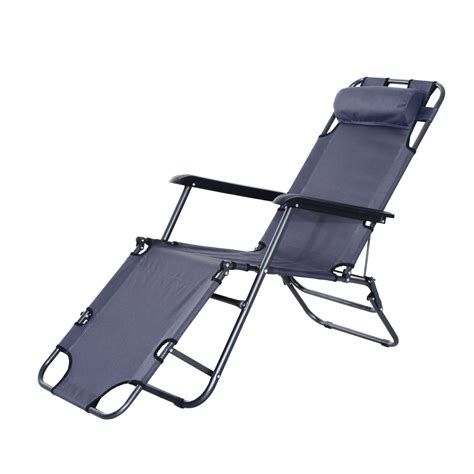portable reclining chairs outsunny folding lounge chair chaise portable recliner sun