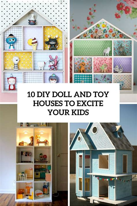 houses for kids 10 diy doll and toy houses to excite your kids shelterness