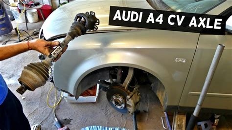 accident recorder 2002 audi a4 electronic toll collection audi a4 b6 front cv axle shaft replacement removal youtube