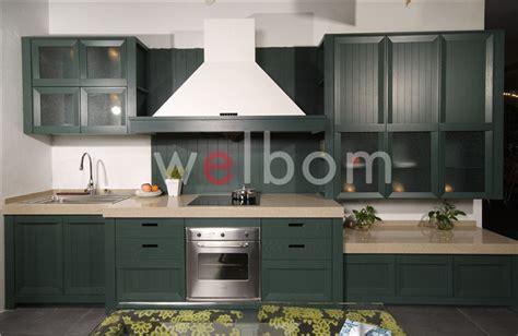 dark green kitchen cabinets dark green laminated plywood kitchen cabinet furniture