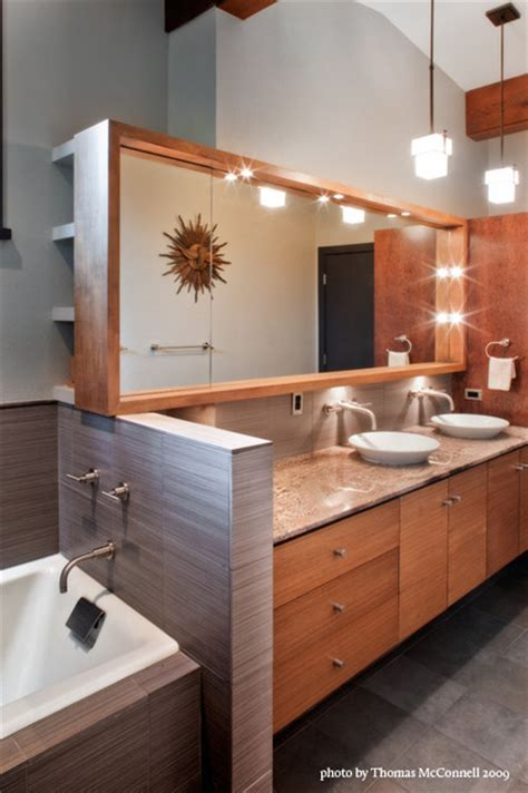 mid century modern master bathroom midcentury bathroom jarratt mid century modern midcentury bathroom austin by cg s design build