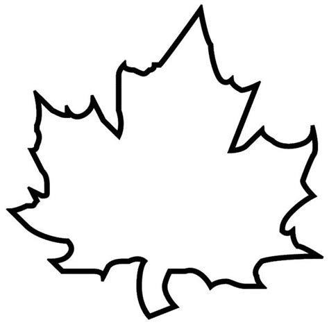 Black And White Outline Of by Fall Leaf Clipart Black And White Outline Clipartxtras