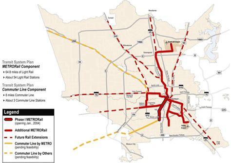 houston light rail map houston metro rail expansion map indiana map