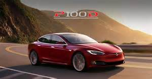 Fastest Tesla Car Fastest Production Car In The World Tesla P100d