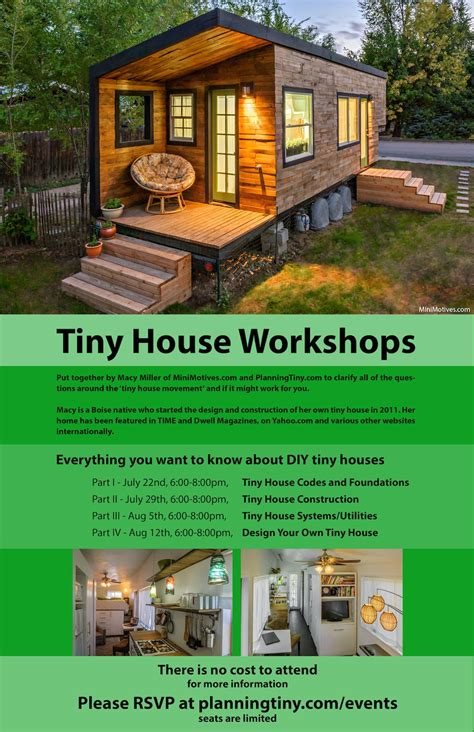 house of wheels boise free tiny house workshops in boise idaho