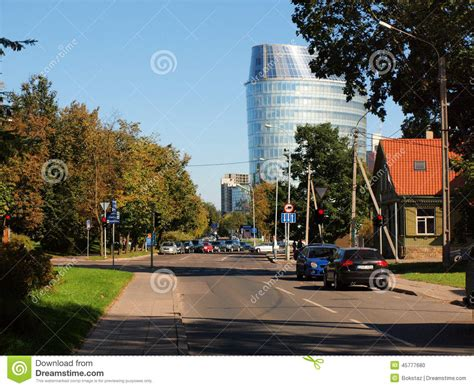 bank headquarters barclays bank office in vilnius city editorial photo