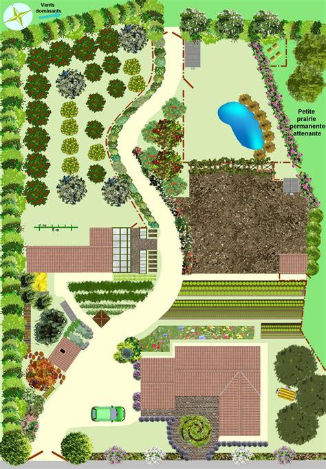 cr 233 er un jardin en permaculture plan
