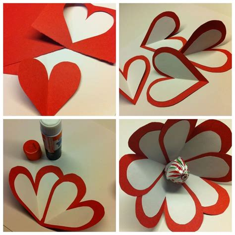 Valentines Day Paper Crafts - s day crafts ideas for use paper