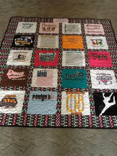 T Shirt Memory Quilts by Custom 20 T Shirt Memory Quilt Aftcra