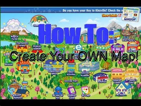 create your own map how to create your own map on webkinz