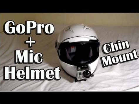 gopro motocross helmet mount gopro hero helmet chin mounting and mic set up