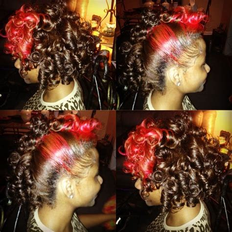 Colors Of The Year wax curls color hair pinterest