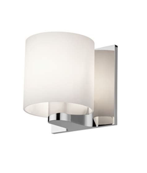 flos bathroom light white opal glass bathroom wall light