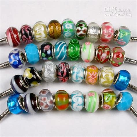wholesale bead distributors best high quality 100 x wholesale lwork glass fit