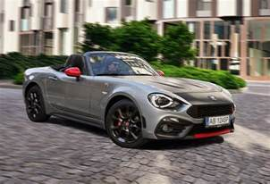 Abarth Cars Uk Abarth Cars Uk 124 Spider Sport Roadster