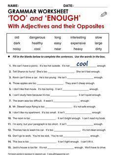 preguntas con both english grammar too and enough www allthingsgrammar