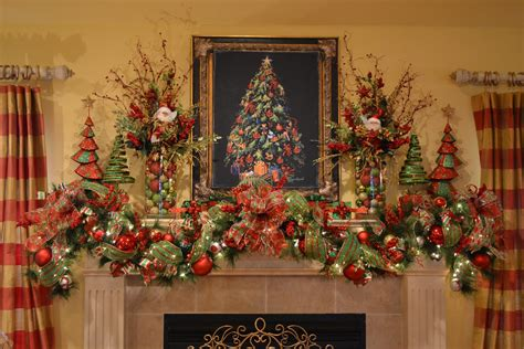 christmas mantel swag kristen s creations my mantle