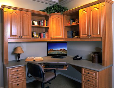 corner home office desks closets gallery design pictures