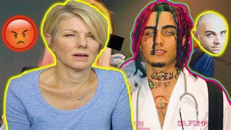 lil pump vlog mom reacts to lil pump a day in the life live footage