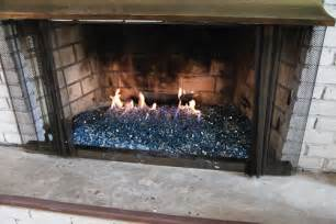 gas fireplace insert glass rocks fireplace renovation this lovely home