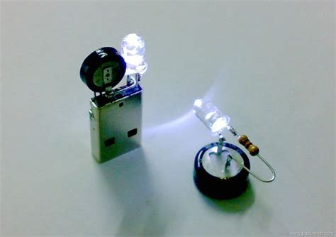 capacitor with led supercapacitor usb light