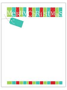 Christmas Letter Templates For Word » Home Design 2017