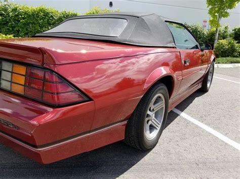 89 chevy camaro 89 chevy camaro z28 iroc z tpi amazing car clean