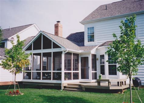 screen porch roof screened in deck with hip roof roof http