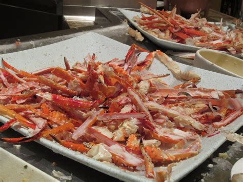 the bellagio buffet las vegas eat all the king crab