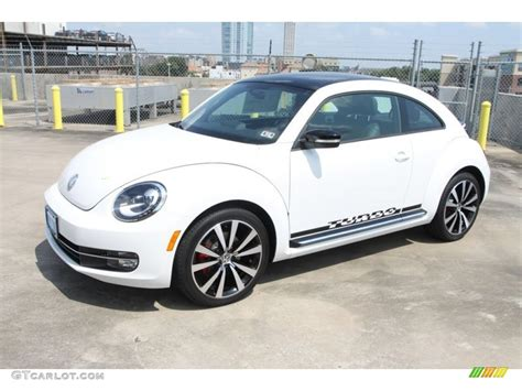 candy white  volkswagen beetle turbo exterior photo  gtcarlotcom