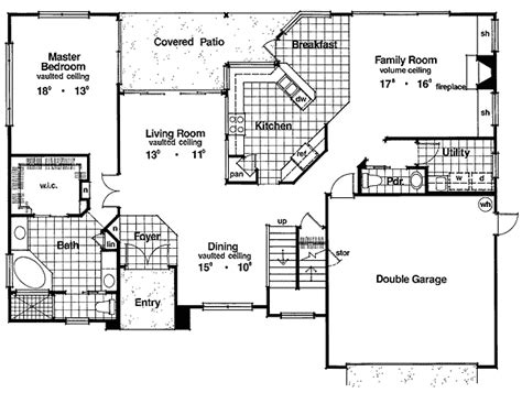 typical house plans not a typical two story 6345hd 1st floor master suite cad available florida