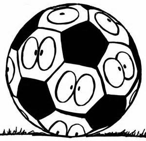 Foto divertenti: Pallone calcio da colorare Gatti