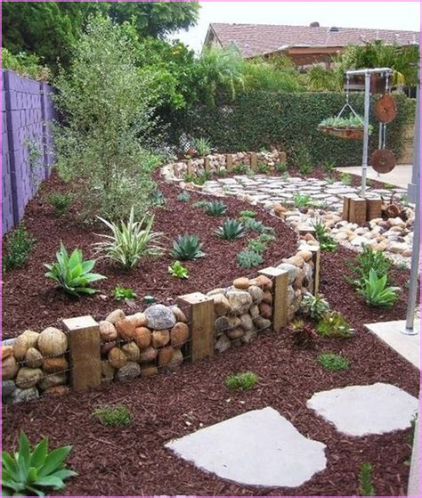 simple backyard landscape ideas diy landscape design plans home design