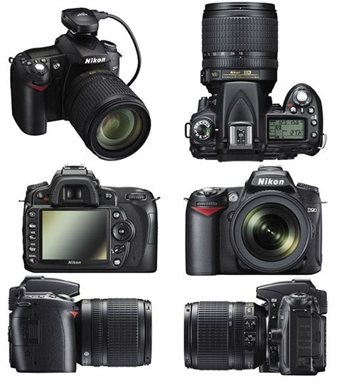 Nikon D90 Nikon D90 With Kit Lens Actual Size Image