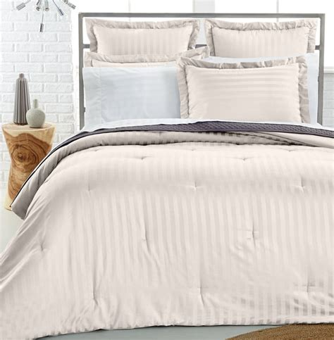 charter club comforter charter club damask stripe pima cotton reversible full