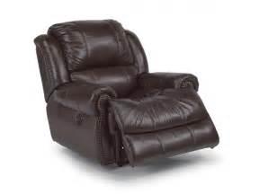 flexsteel living room leather power recliner 1311 50p