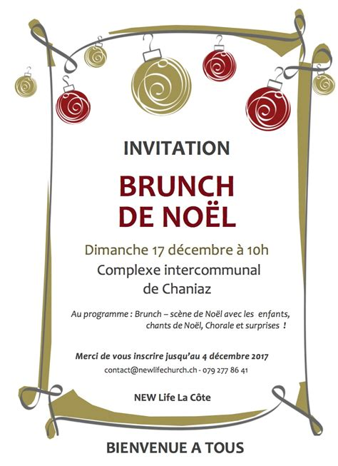 inscription brunch de noel   life church la cote