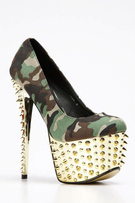 camouflage high heel shoes camo high heels