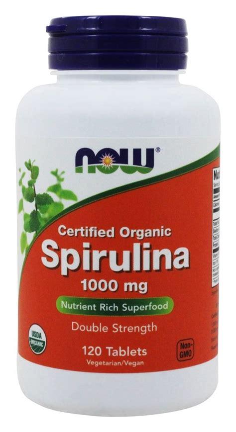 buy now foods spirulina certified organic double