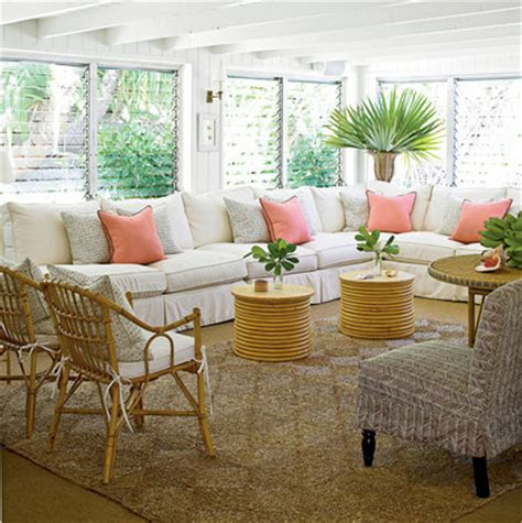 tropical home decorating ideas classic tropical island home decor coastal living