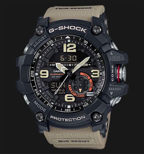 Jam Tangan Pria Casio G Shock Moto Gp Black Waterresist casio g shock mudmaster gg 1000 1a5dr sensor 200m