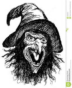 stock photos face witch image 43759613