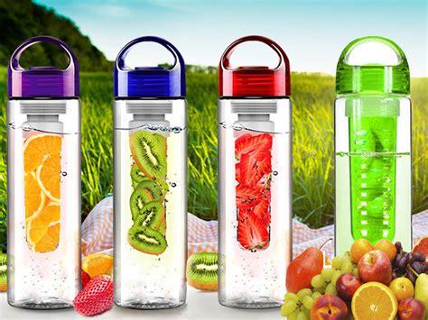 Promo Fruit Juice Botol Minum Water Bottle Infuser New Tritan sports juice bottle fruit infusing infuser water infusion health fuzer maker ebay