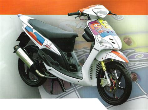 Modifikasi Mio Sporty 2007 by Moto Gp Modifikasi Motor Yamaha Mio