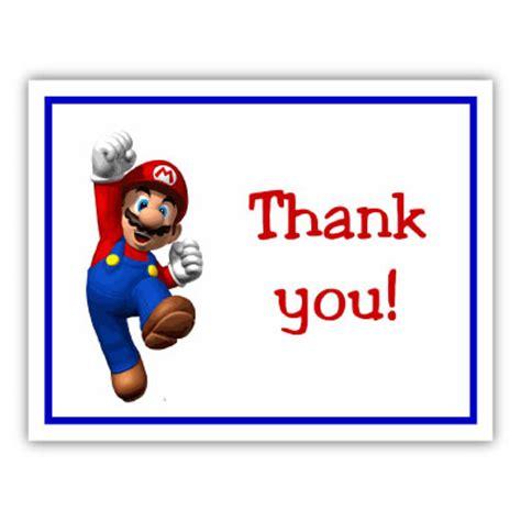 Printable Mario Thank You Cards | polka ladybug note cards personalized invitation